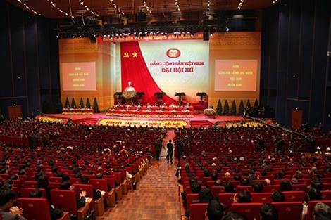 Khai mạc Đại hội đại biểu toàn quốc lần thứ XII Đảng Cộng sản Việt Nam
