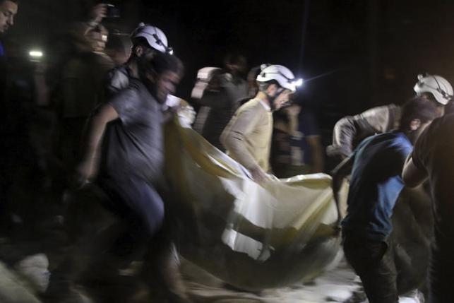 Syria: Bệnh viện bị không kích, 27 người thiệt mạng