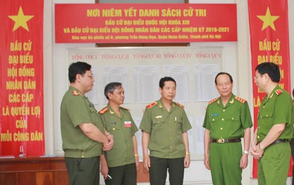 Lực lượng CAND bảo vệ an toàn tuyệt đối Ngày hội đất nước