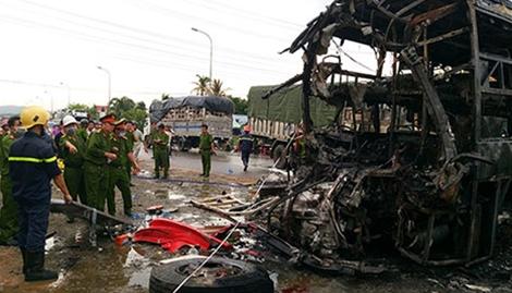 Danh sách các nạn nhân trong vụ tai nạn thảm khốc ở Bình Thuận