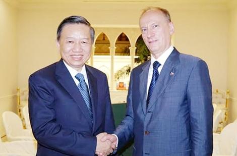 Bộ trưởng Tô Lâm tham dự Hội nghị những người đứng đầu phụ trách an ninh các nước