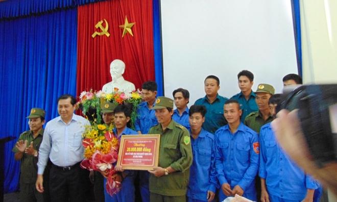 Khen thưởng tập thể, cá nhân khám phá vụ ma túy lớn nhất từ trước đến nay ở Đà Nẵng