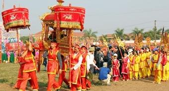 Hàng vạn người dự Lễ hội Tịch điền Đọi Sơn
