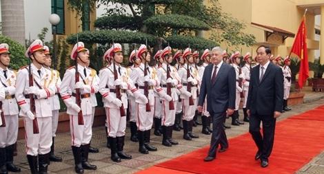 Làm sâu sắc thêm quan hệ hữu nghị truyền thống tốt đẹp Việt Nam – Liên bang Nga