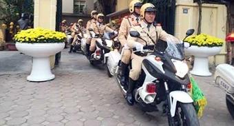 Hà Nội ra quân đảm bảo TTATGT đầu năm mới