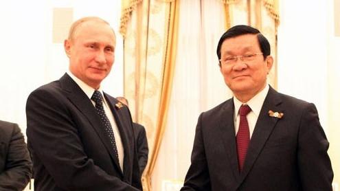 Thúc đẩy quan hệ chiến lược Việt-Nga trong giai đoạn mới