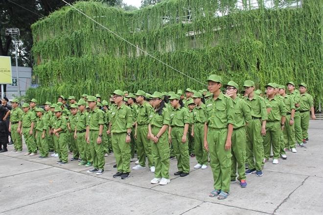 """Lễ xuất quân Chương trình huấn luyện """"Học làm chiến sĩ Công an"""" - Ảnh minh hoạ 5"""