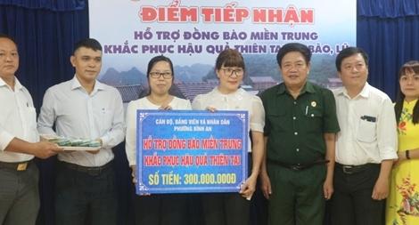 TP Hồ Chí Minh vận động được trên 9 tỷ đồng hỗ trợ đồng bào miền Trung