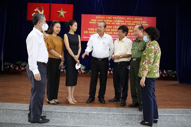 Phó Thủ tướng Thường trực Trương Hòa Bình tặng quà Tết cho đồng bào Chăm - Ảnh minh hoạ 3