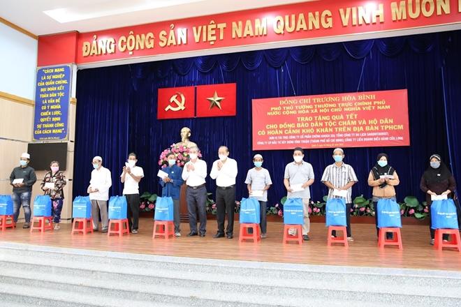 Phó Thủ tướng Thường trực Trương Hòa Bình tặng quà Tết cho đồng bào Chăm - Ảnh minh hoạ 4