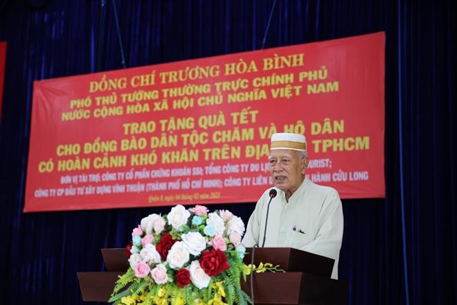 Phó Thủ tướng Thường trực Trương Hòa Bình tặng quà Tết cho đồng bào Chăm - Ảnh minh hoạ 5