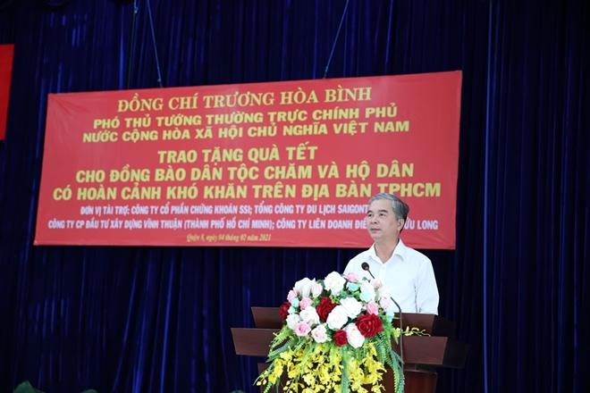 Phó Thủ tướng Thường trực Trương Hòa Bình tặng quà Tết cho đồng bào Chăm - Ảnh minh hoạ 6