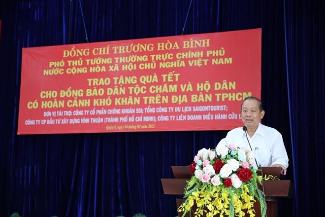 Phó Thủ tướng Thường trực Trương Hòa Bình tặng quà Tết cho đồng bào Chăm - Ảnh minh hoạ 2