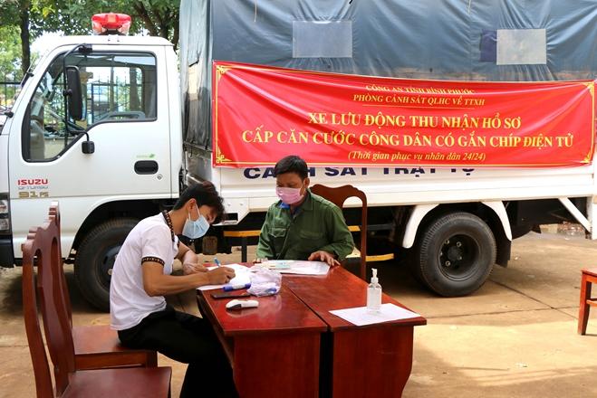 Sáng kiến trong cấp CCCD cho đồng bào dân tộc thiểu số ở Bình Phước