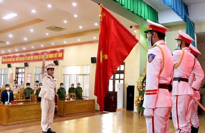 Công an tỉnh Bình Phước công bố quyết định thành lập Phòng An ninh mạng