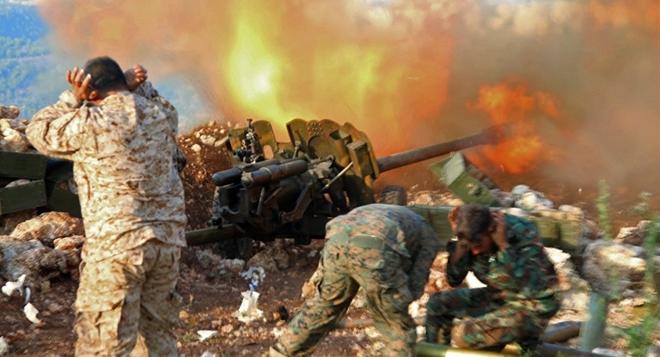 """Quân đội Syria bắt đầu tấn công tổng lực """"thủ đô Nhà nước Hồi giáo"""""""