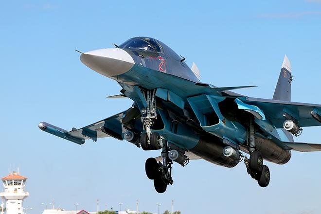 Máy bay chiến đấu Su-34 của Không quân Nga