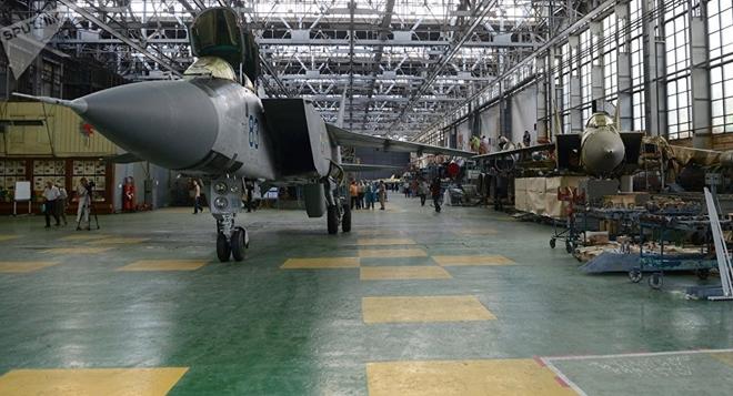 Nga phát triển siêu máy bay chiến đấu đánh chặn hơn 20 mục tiêu