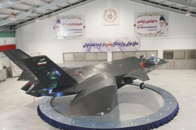 Mẫu máy bay chiến đấu Qaher của Iran. Ảnh: Tasnim