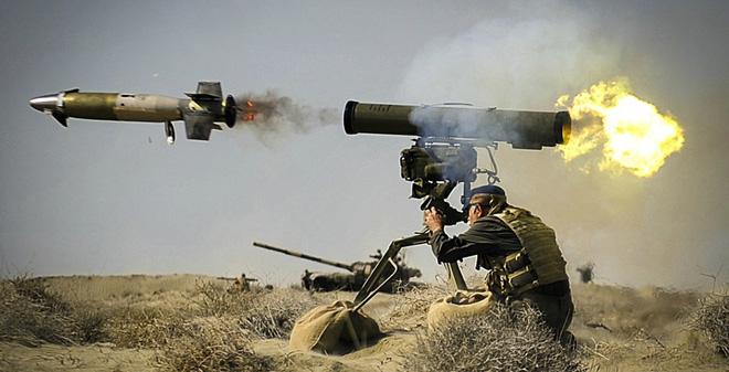 Quân đội Armenia sẽ sử dụng tên lửa Kornet-E để chống lại Azerbaijan. Hai quốc gia đang có tranh chấp khu vực Nagorno-Karabakh. Ảnh: AZ News