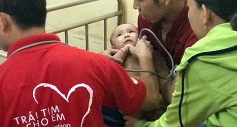 Trao nhiều cơ hội cho trẻ em nghèo bị bệnh tim được chữa trị kịp thời