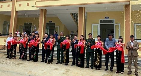 Khánh thành và đưa vào sử dụng Trạm Y tế xã Kỳ Tân, huyện Bá Thước, tỉnh Thanh Hóa
