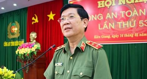Thứ trưởng Nguyễn Văn Sơn dự triển khai công tác năm 2019 Công an tỉnh Kiên Giang