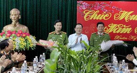 Khen thưởng những chiến công của CA tỉnh  Điện Biên trong đợt cao điểm Tết Nguyên đán Kỷ hợi