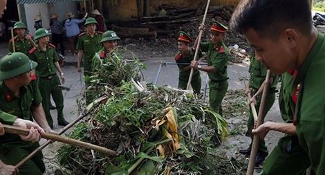 Khoa Cảnh sát môi trường Học viện CSND xuất quân bảo vệ môi trường