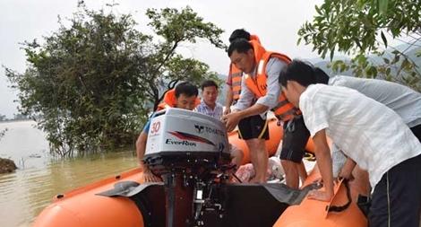 Công an Quảng Ngãi đảm bảo an toàn trước khi bão vào
