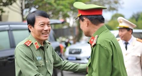 Thứ trưởng Lương Tam Quang kiểm tra công tác Công an Đắk Lắk