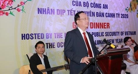 Bộ Công an Việt Nam tăng cường hợp tác với các cơ quan, tổ chức quốc tế