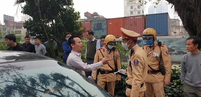 Tài xế vi phạm nồng độ cồn gây tai nạn trên đường Kim Mã