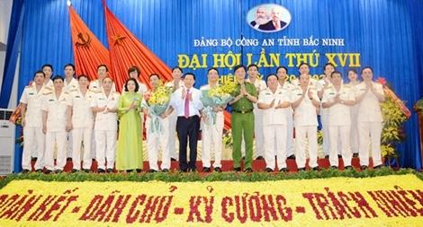 Thứ trưởng Nguyễn Duy Ngọc dự Đại hội Đảng bộ Công an tỉnh Bắc Ninh