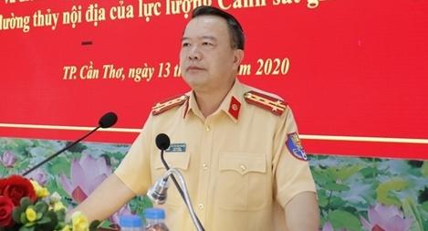 Tập huấn nghiệp vụ cho lực lượng Cảnh sát giao thông khu vực phía Nam