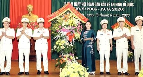 Công an Ninh Bình  gặp mặt kỷ niệm 75 năm Ngày truyền thống CAND