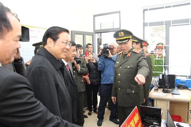 Bộ trưởng Tô Lâm dự Lễ khánh thành trụ sở Công an xã biên giới Nghệ An - Ảnh minh hoạ 9