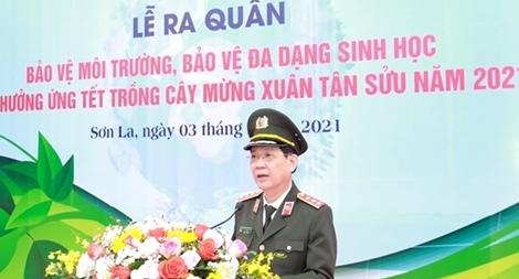 Thứ trưởng Nguyễn Văn Sơn dự Lễ phát động ra quân bảo vệ môi trường