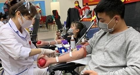 Vì người bệnh cần máu tại Lễ hội Xuân hồng 2021