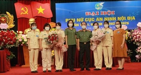 Hội phụ nữ Cục An ninh nội địa nâng cao năng lực, trách nhiệm đội ngũ cán bộ hội