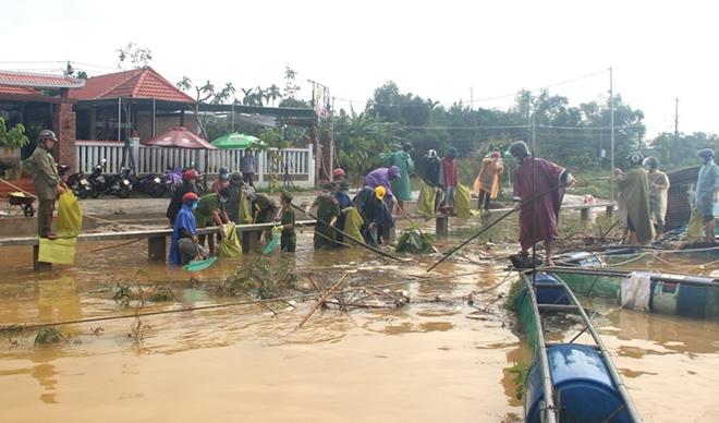 Tăng cường giúp dân làm sạch môi trường sau lũ1 - Ảnh minh hoạ 10