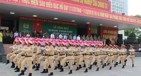 Khai mạc Đại hội khỏe vì ANTQ tại Thừa Thiên - Huế