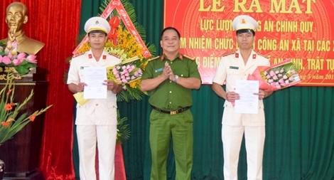 Công an chính quy chính thức đảm nhiệm chức danh Công an xã ở Thừa Thiên - Huế