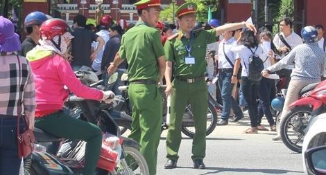 Công an tỉnh Thừa Thiên - Huế nỗ lực đảm bảo an toàn kỳ thi THPT Quốc gia 2018