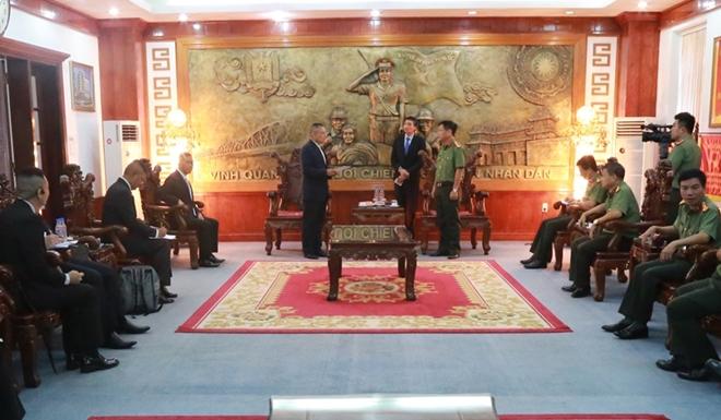 Công an tỉnh Thừa Thiên - Huế và Cảnh sát Hoàng gia Thái Lan tăng cường hợp tác