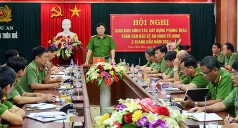 Công an tỉnh Thừa Thiên - Huế cảm hóa hàng ngàn đối tượng lầm lỗi