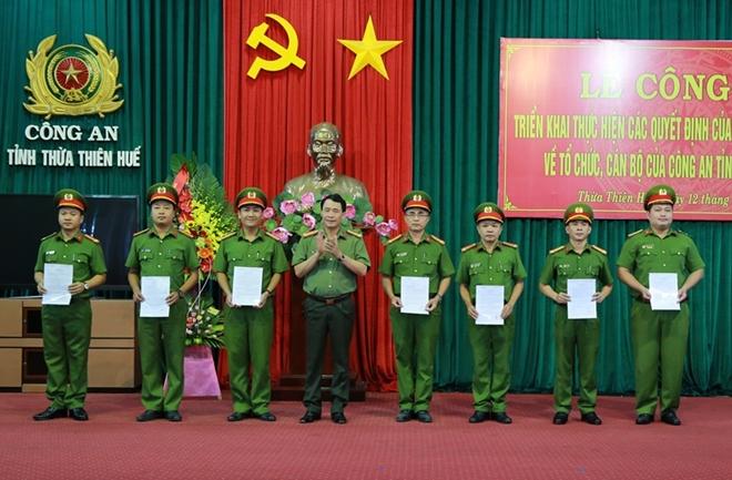 Sáp nhập Cảnh sát PCCC về Công an tỉnh Thừa Thiên – Huế