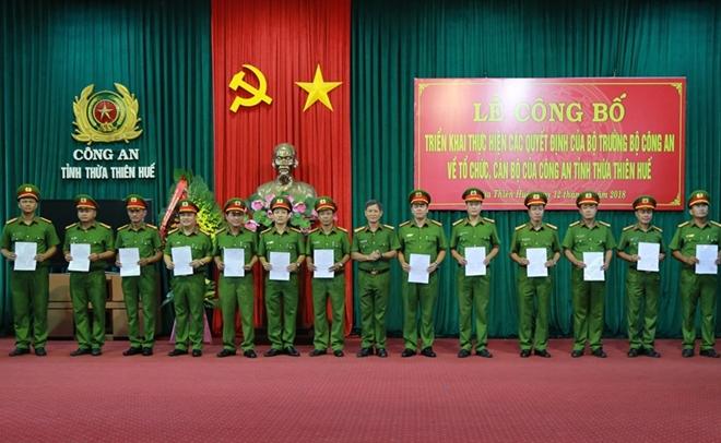Sáp nhập Cảnh sát PCCC về Công an tỉnh Thừa Thiên – Huế - Ảnh minh hoạ 2