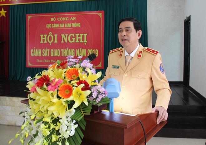 Thứ trưởng Nguyễn Văn Sơn dự triển khai công tác năm 2019 của Cục CSGT