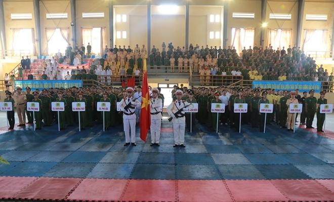 Công an tỉnh Thừa Thiên - Huế khai mạc hội thao võ thuật CAND năm 2019